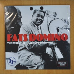 FATS DOMINO - THE ESSENTIAL TRACKS - 2 LP