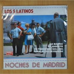 LOS 5 LATINOS - NOCHES DE MADRID - LP