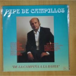 PEPE DE CAMPILLOS - DE LA CAMPIÑA A LA BAHIA - LP