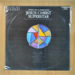 VARIOS - JESUS CHRIST SUPERSTAR / LIVING STRINGS AND LIVING VOICES - PROMO - LP
