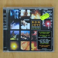 BON JOVI - ONE WILD NIGHT LIVE 1985 - 2001 - CD