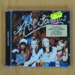 ALL SAINTS - SAINTS & SINNERS - CD