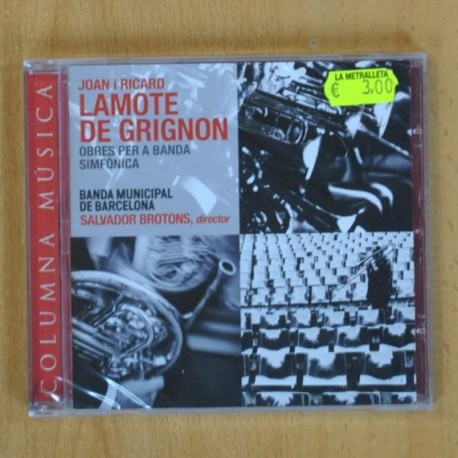 VARIOS - LAMOTE DE GRIGNON - CD