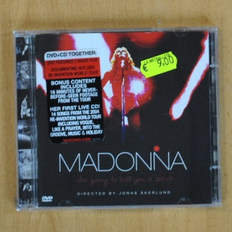 MADONNA - M GOING TO TELL YOU - CD