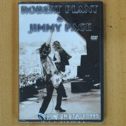 ROBERT PLANT & JIMMY PAGE - LIVE ON STAGE 1995 - DVD