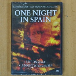 KEITH RICHARDS / JACK BRUCE / PHIL MANZANERA - ONE NIGHT IN SPAIN - DVD