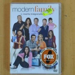 MODERN FAMILY - LA CUARTA TEMPORADA - DVD