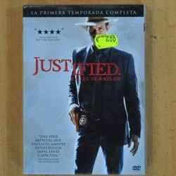JUSTIFIED - PRIMERA TEMPORADA - DVD