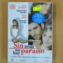 SIN TETAS NO HAY PARAISO 1 TEMPORADA 12 EPISODIOS - 4 DVD
