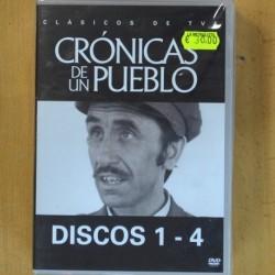 CRONICAS DE UN PUEBLO - DISCOS 1 - 17 - DVD