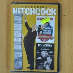 HITCHCOCK - ATORMENTADA / RICOS Y EXTRAÑOS - DVD