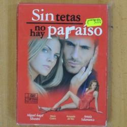 SIN TETAS NO HAY PARAISO - 2 TEMPORADA 1 PARTE - DVD