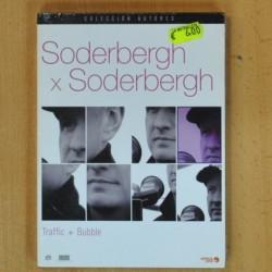 SODERBERGH X SODERBERGH - TRAFFIC / BUBBLE - DVD
