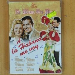 A LA HABANA ME VOY - DVD