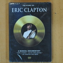 ERIC CLAPTON - THE STORY OF - DVD