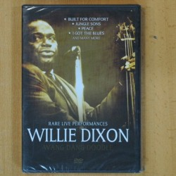 WILLIE DIXON - RARE LIVE PERFORMANCES - DVD
