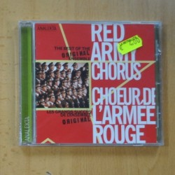 RED ARMY CHORUS - CHOEUR DE L ARMEE ROUGE - CD
