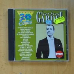 CARLOS GARDEL - SERIE 20 EXITOS - CD