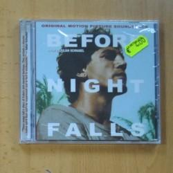 VARIOS - BEFORE NIGHT FALLS - CD