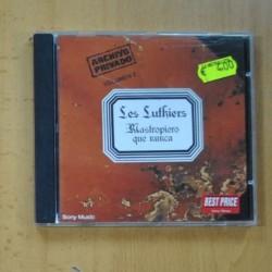 LES LUTHIERS - MASTROPIERO QUE NUNCA - CD