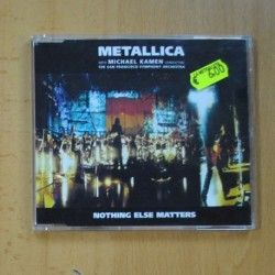 METALLICA - NOTHING ELSE MATTERS - CD