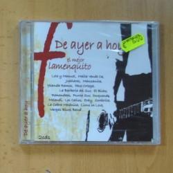 VARIOS - DE AYER A HOY EL MEJOR FLAMENQUITO - 2 CD