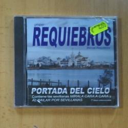 MANUEL REQUIEBROS - PORTADA DEL CIELO - CD