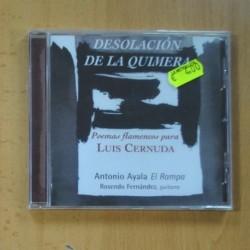 ANTONIO AYALA - DESOLACION DE LA QUIMERA - CD