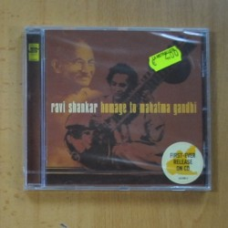 RAVI SHANKAR - HOMAGE TO MAHATMA GANDHI - CD