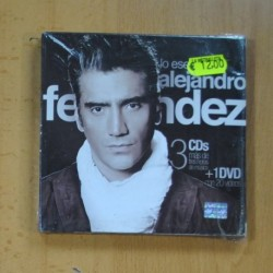 ALEJANDRO FERNANDEZ - LO ESENCIAL DE ALEJANDRO FERNANDEZ - 3 CD + DVD