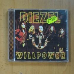 DIEZEL - WILLPOWER - CD