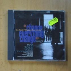 DEL AMITRI - CHANGE EVERYTHING CHANGE - CD