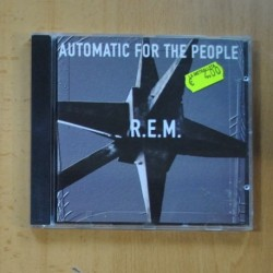 R.E.M - AUTOMATIC FOR THE PEOPLE - CD