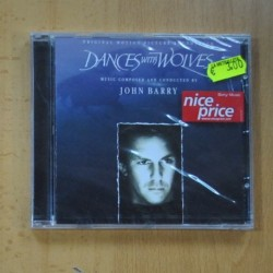 JOHN BARRY - DANCE WITH WOLVES - CD