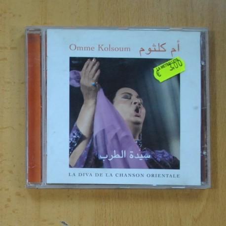 OMME KOLSOUM - LA DIVA DE LA CHANSON ORIENTALE - CD