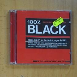 VARIOS - 100% BLACK - 2 CD