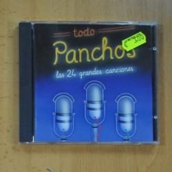 LOS PANCHOS - TODO LOS PANCHOS LAS 24 GRANDES CANCIONES - CD