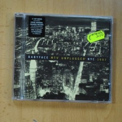 BABYFACE . MTV UNPLUGGED NYC 1997 - CD