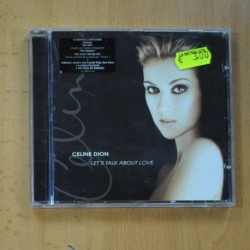 CELINE DION - LETS TALK ABOUT LOVE - CD