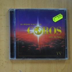 VARIOS - EL MEJOR ALBUM DE COROS DEL MUNDO - 2 CD