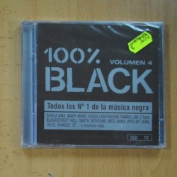 VARIOS - 100 % BLACK VOLUMEN 4 - 2 CD