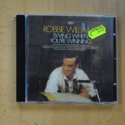 ROBBIE WILLIAMS - SWING WHEN YOU RE WINNING - CD