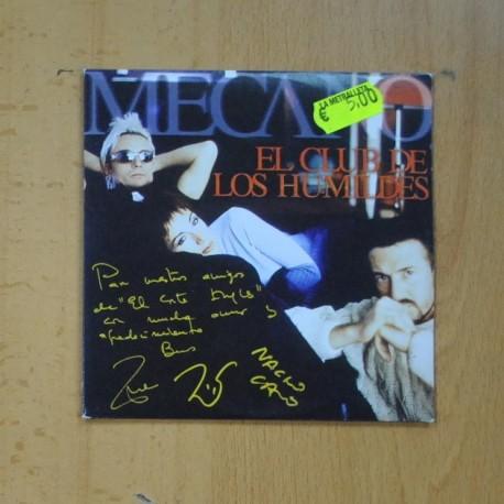 MECANO - EL CLUB DE LOS HUMILDES - CD