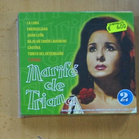 MARIFE DE TRIANA - MARIFE DE TRIANA - 2 CD