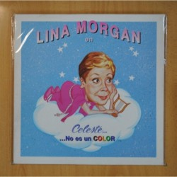 LINA MORGAN - LINA MORGAN EN CELESTE NO ES UN COLOR - LP