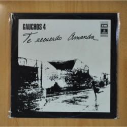 GAUCHOS 4 - TE RECUERDO AMANDA - LP