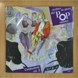 VARIOS - ARCHIVO DE PLATA DEL POP ESPAÑOL / CANTAUTORES VOL. 3 - LP