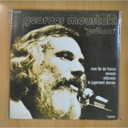 GEORGES MOUSTAKI - PRELUDE - 2 LP