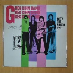 GREG KIHN BAND - WITH THE NAKED EYE - LP