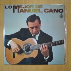 MANUEL CANO - LO MEJOR DE MANUEL CANO - LP